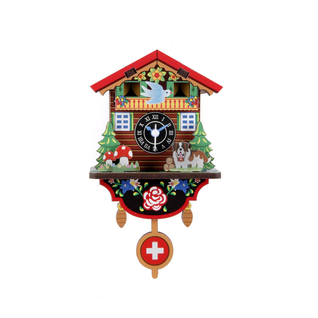 Kikkerland - Make Your Own Swiss House Clock