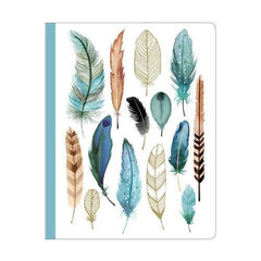 Feathers Deluxe Spiral Notebook