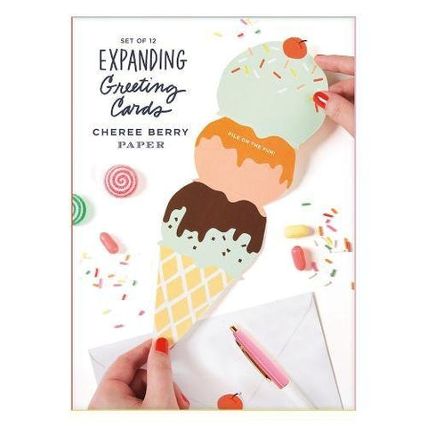 Cheree Berry Expanding Greetings Card Set