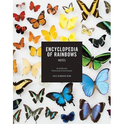 Encyclopedia of Rainbows Notes: 20 Different Notecards