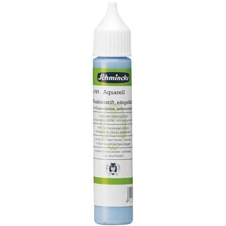 Schmincke - Mediums - Coloured Mask Fluid Blue 100ml