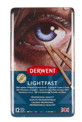 Derwent Lightfast 12 Tin