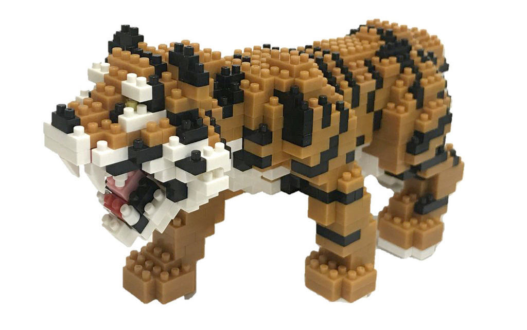 Nanoblock Bengal Tiger (Deluxe Edition)