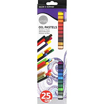 Daler Rowney Simply Oil Pastels Pack of 25