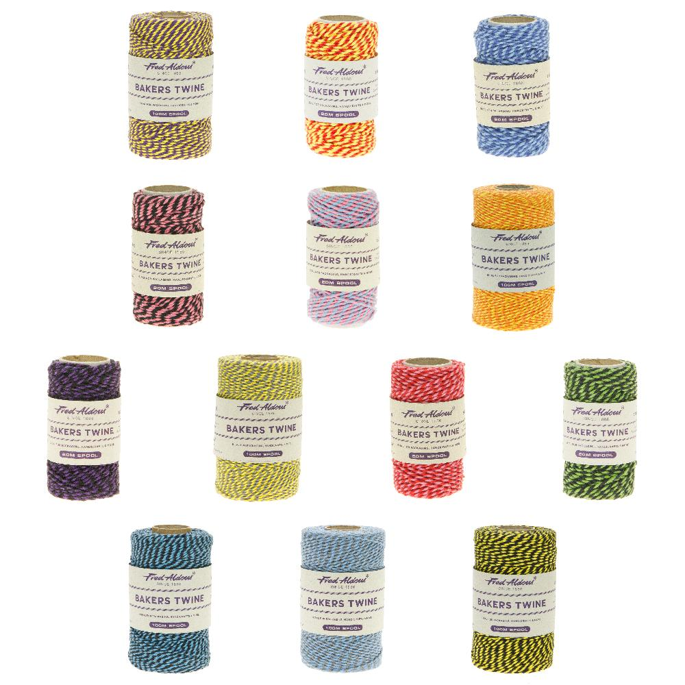 fred aldous two tone bakers twine