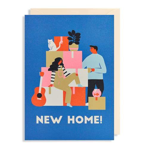 New Home! card