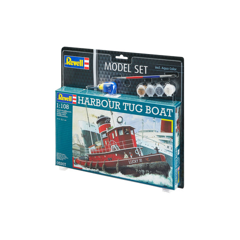 Model Set Harbour Tug Boat