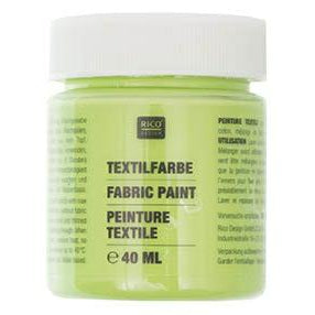 Rico - Fabric Paint Leaf Green