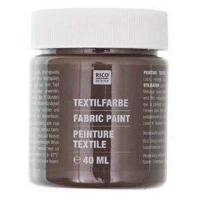 Rico - Fabric Paint Dark Brown
