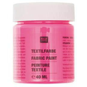 Rico - Fabric Paint Neon Pink