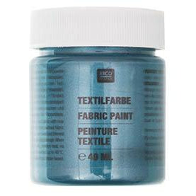 Rico - Fabric Paint Petrol Pearly