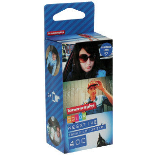 Lomography Colour Negative Film 35mm - 3 Pack 400 ISO