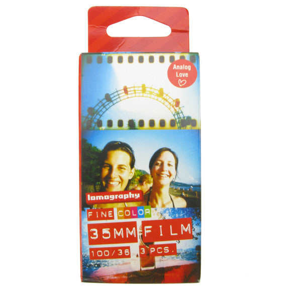 Lomography Fine Colour Film 35mm - 3 Pack 100 ISO
