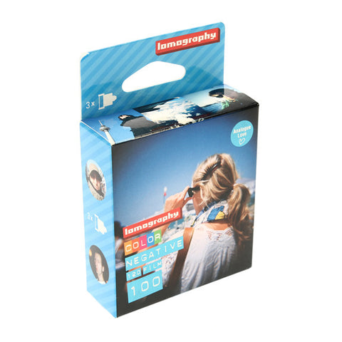 Lomography Colour Negative Film 100 120mm - 3 Pack