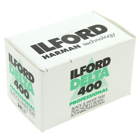 ILFORD DELTA PRO at ISO 400 - 35mm Film - 24 Exp