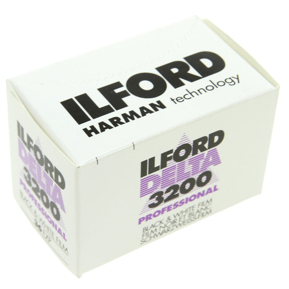 ILFORD DELTA PRO at ISO 3200 - 35mm Film - 36 Exp