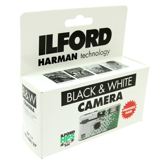 ILFORD B&W Single Use Camera with HP5 PLUS Film ISO 400 - Process Paid