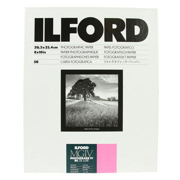 ILFORD MULTIGRADE IV RC Deluxe 8x10 Glossy - 50sh
