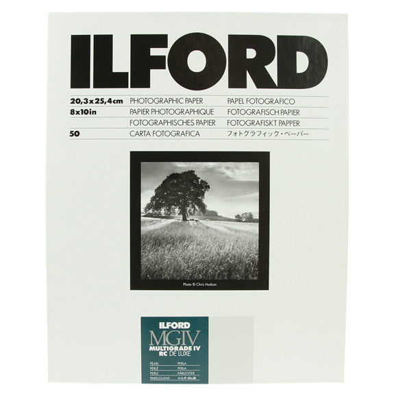 ILFORD MULTIGRADE RC Deluxe 8x10 Pearl - 50sh