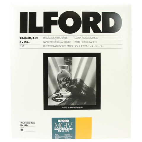 ILFORD MULTIGRADE RC Deluxe 8x10 Satin - 25sh