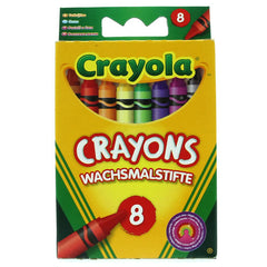 Crayola 8 Coloured Crayons