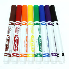 Crayola 8 Washable Markers.