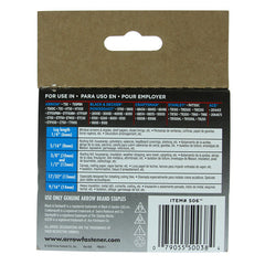"Arrow T50 Staples 10mm 3/8"" #506"
