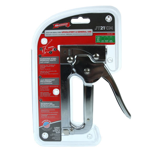 Arrow JT21CM -  Light Duty Staple Gun Tacker