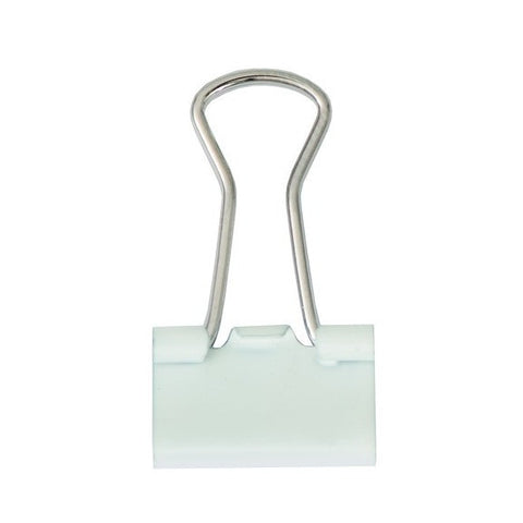 Rico - Binder Clips 15 mm. White 24 Pcs