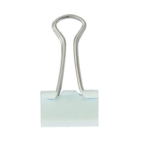 Rico - Binder Clips 19 mm. White 12 Pcs