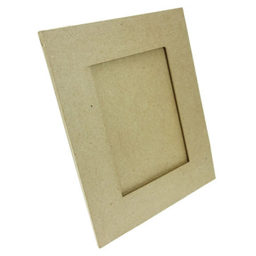 Flat Rectanglular Kraft Photo Frame 230x280mm