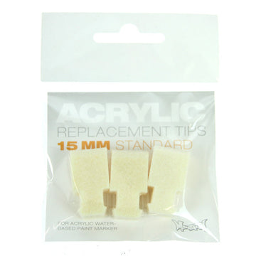 Montana Acrylic - Replacement Tip Standard 15mm (pack of 3)