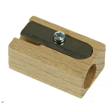 M+R Wooden Sharpener Single