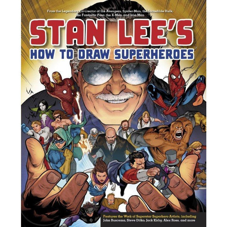 Stan Lees How to Draw Superhe