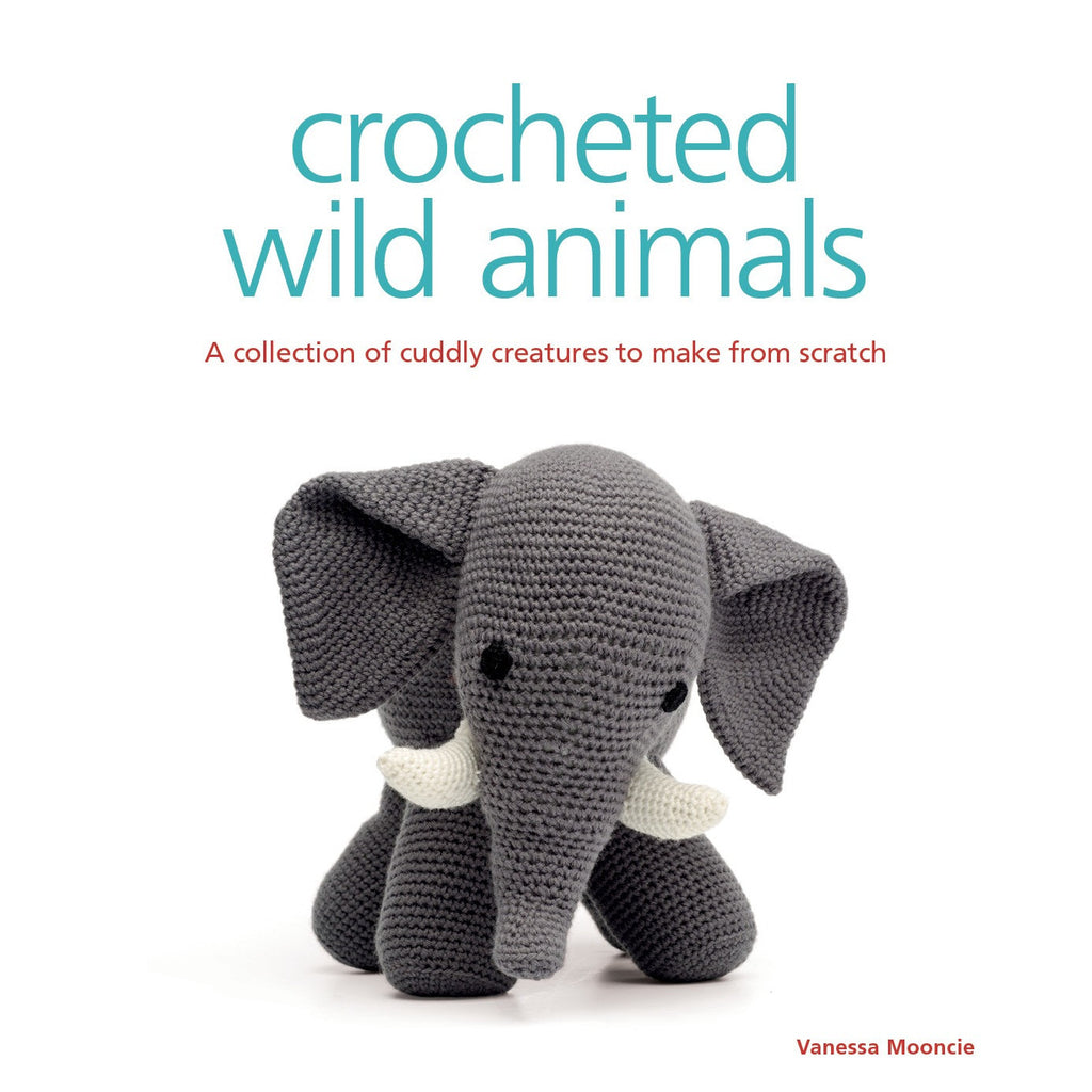 Crocheted Wild Animals Book