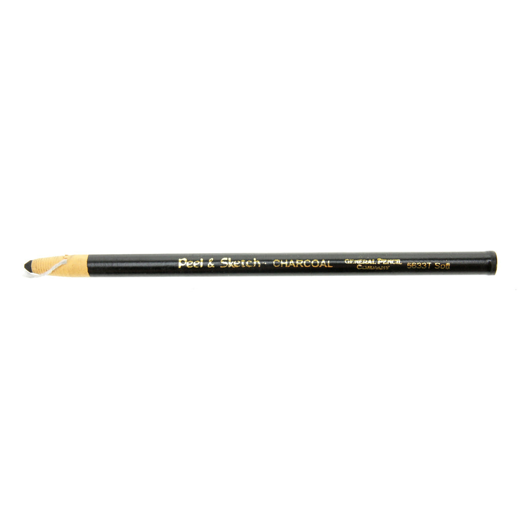 Generals Peel & Sketch Soft Charcoal Pencil