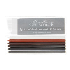 Cretacolor 6 Assorted Artist's Leads