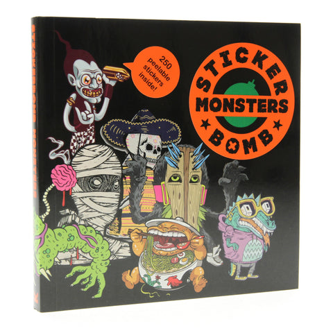 Stickerbomb Monsters Sticker Book