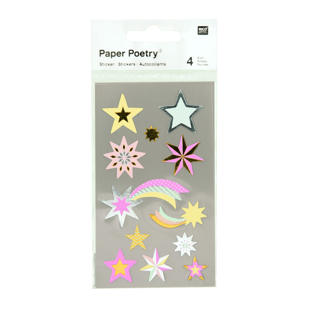 Rico - Sticker Stars Pastel Metallic
