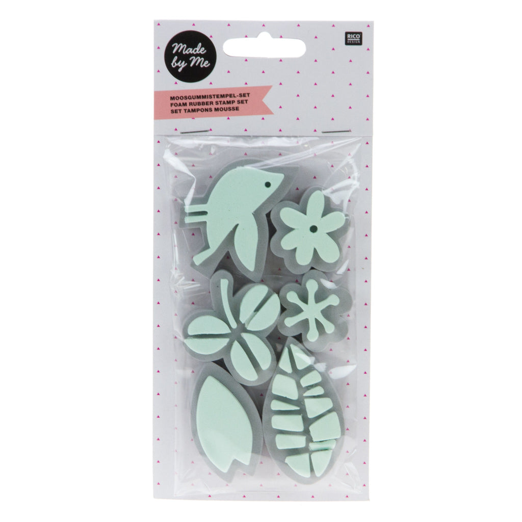 Rico - Foam Rubber Stamp Flower