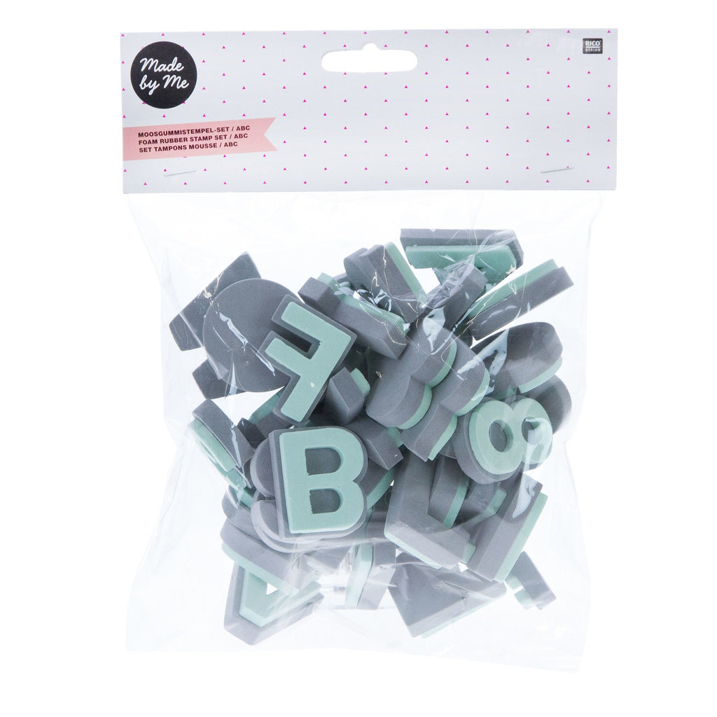 Rico - Foam Rubber Stamp Alphabet