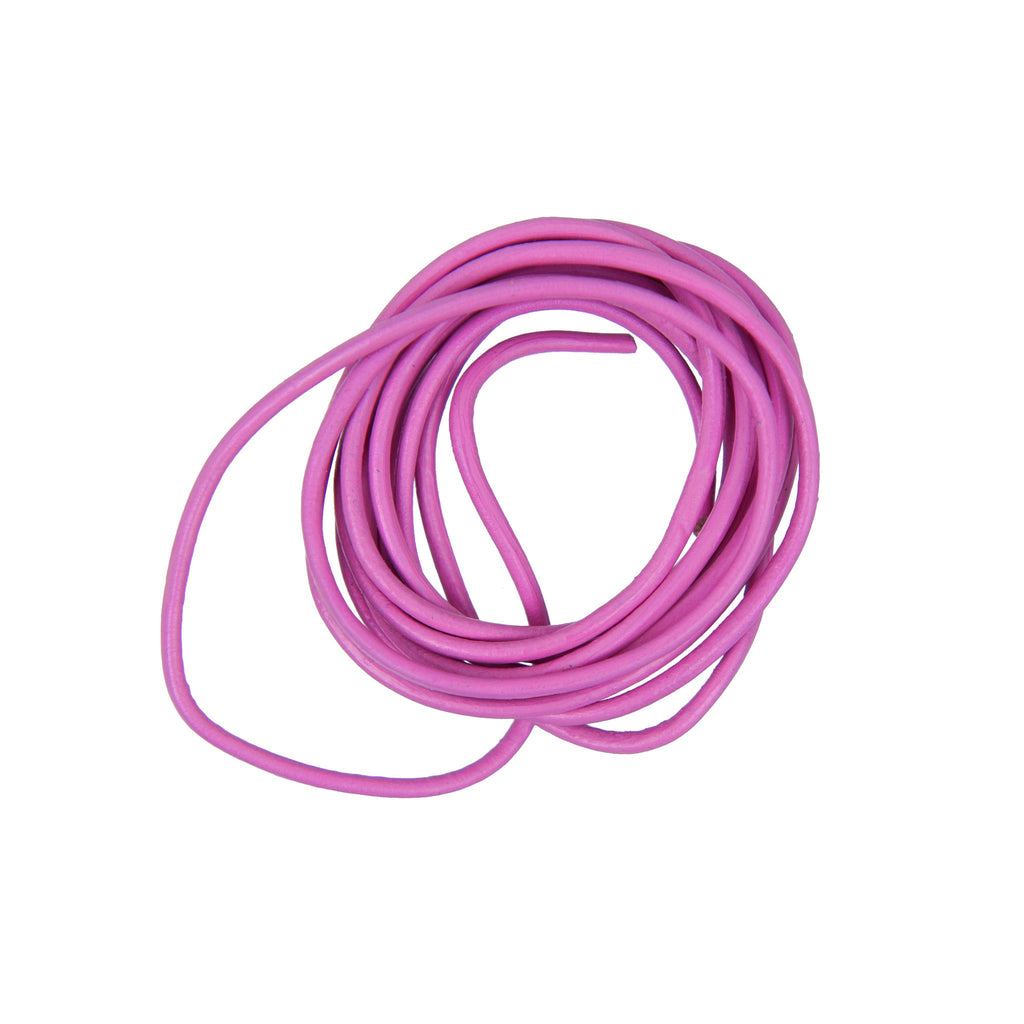 Rico - Leather-Cord Magenta 2mm-1M