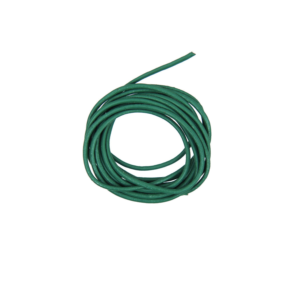 Rico - Leather-Cord Teal 1.5mm-1m