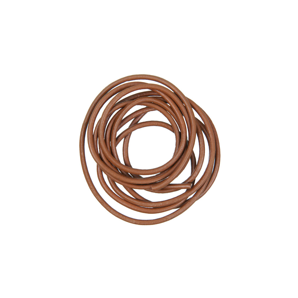 Rico - Leather-Cord Lg Brown 1.5mm-1m