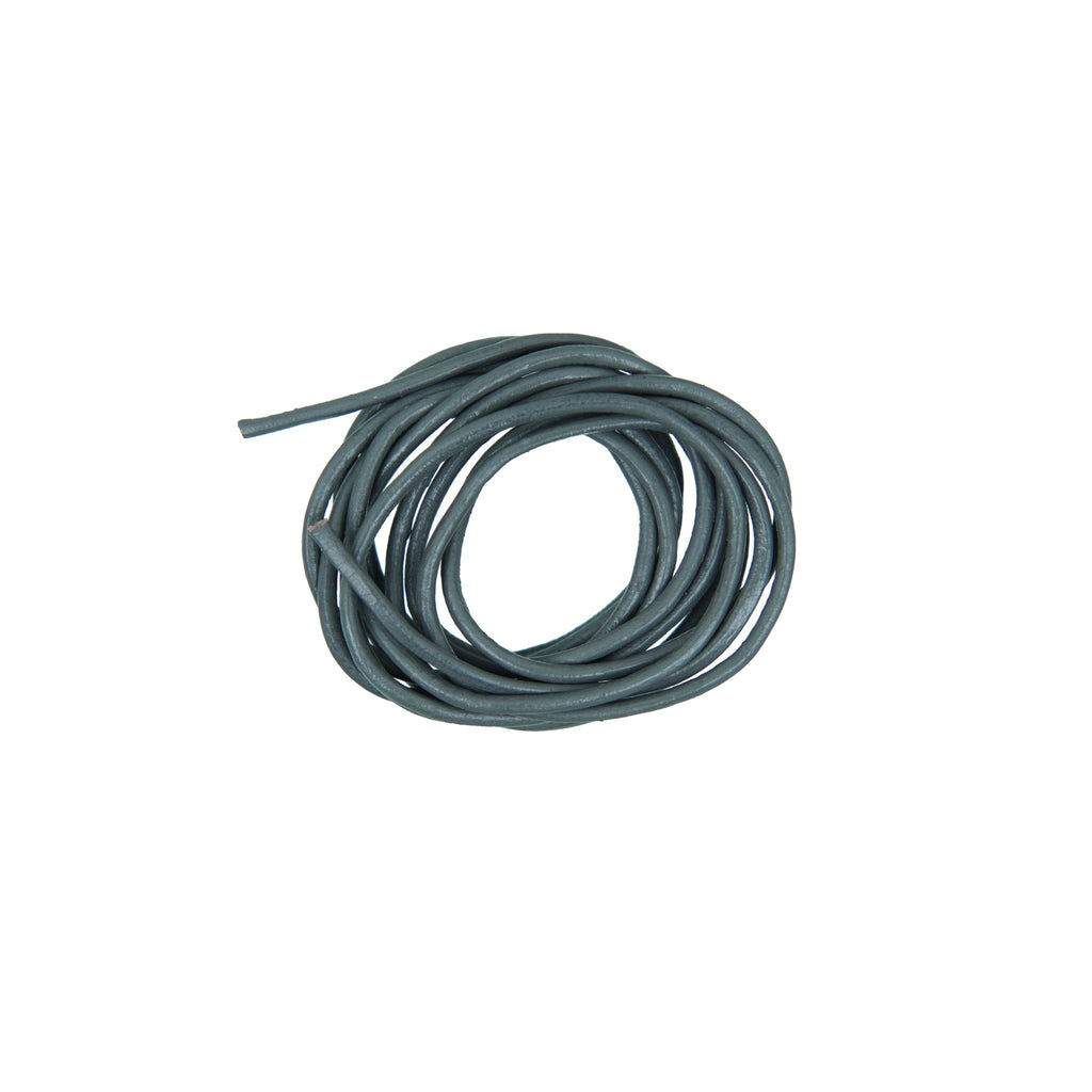 Rico - Leather-Cord Grey 1.5mm x 1m