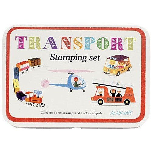 Alain Gree Stamp Set - Transport