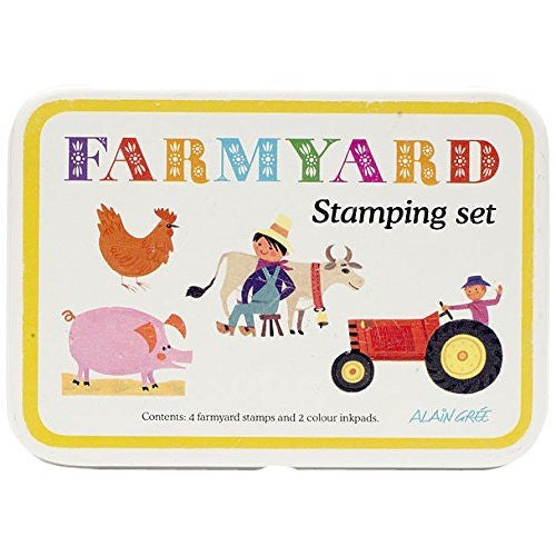 Alain Gree Stamp Set - Farmyard