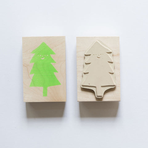 Yellow Owl Workshop Stamp - Christmas Tree