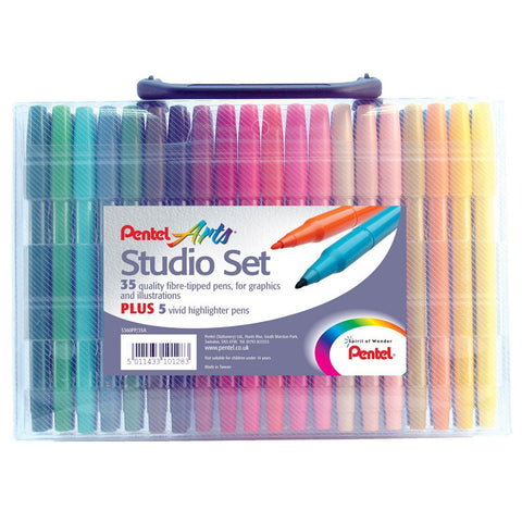 Pentel Arts Studio Set