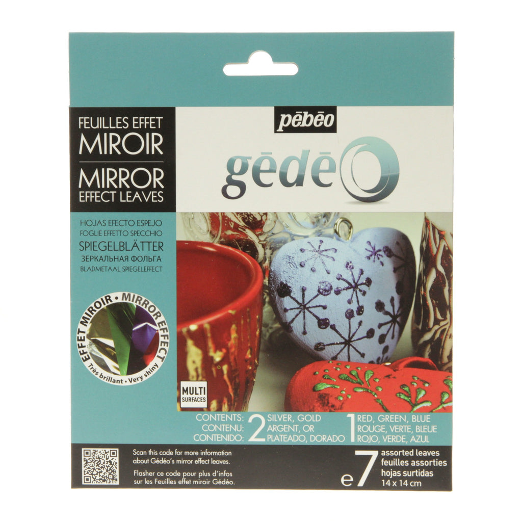 Gedeo Assorted Effect Mirror Leaf 7 Sheets